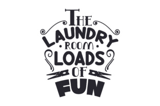 The Laundry Room, Loads of Fun Craft Design By Creative Fabrica Crafts