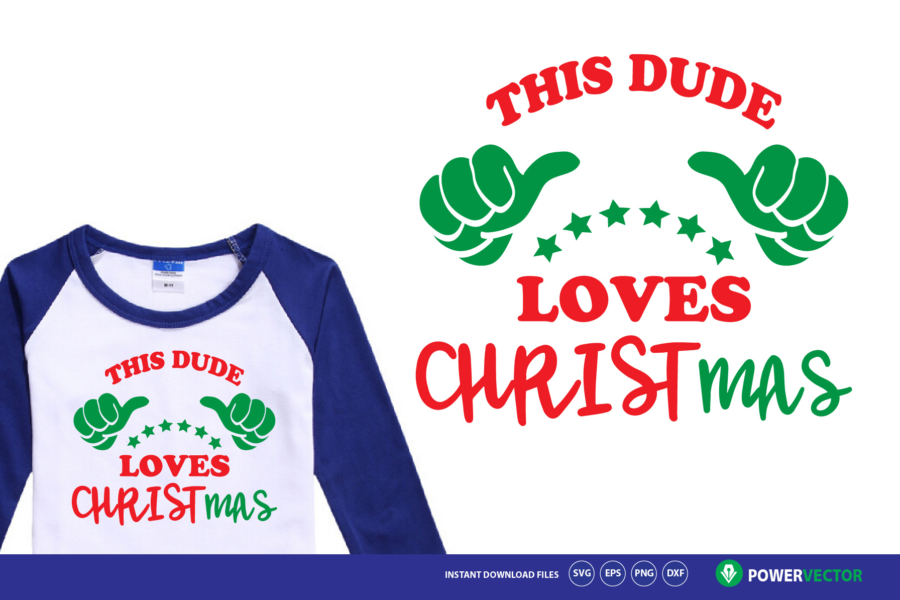 Download Free This Guy Loves Christmas Svg Graphic By Powervector Creative for Cricut Explore, Silhouette and other cutting machines.