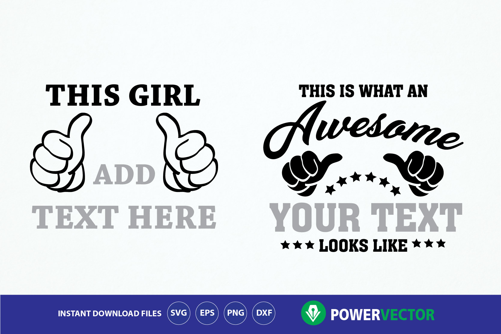 Download Free This Is What An Awesome Looks Like Thumbs Graphic By for Cricut Explore, Silhouette and other cutting machines.
