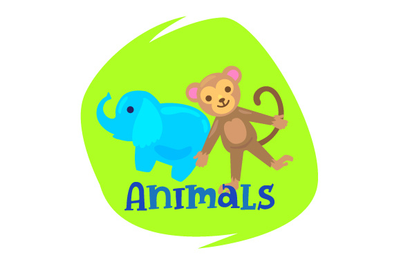 Download Free Toy Bin Label Animals Svg Cut File By Creative Fabrica Crafts for Cricut Explore, Silhouette and other cutting machines.