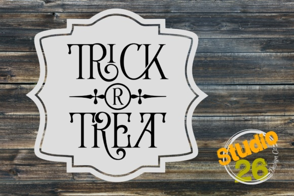 Download Free Trick Or Treat Sorry All Out Happy Halloween Graphic By for Cricut Explore, Silhouette and other cutting machines.