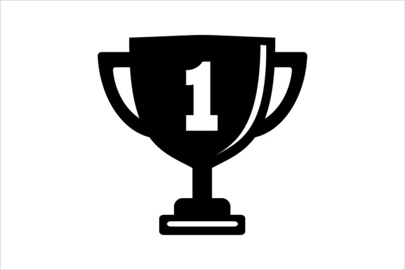 Download Free Trophy The Winner Icon Grafik Von Leisureprojects Creative Fabrica for Cricut Explore, Silhouette and other cutting machines.