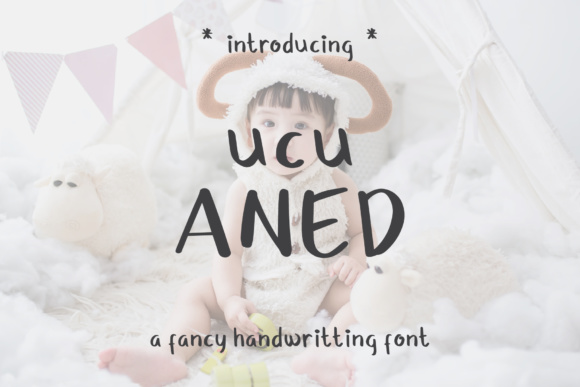 Print on Demand: Ucu Aned Script & Handwritten Font By MuSan