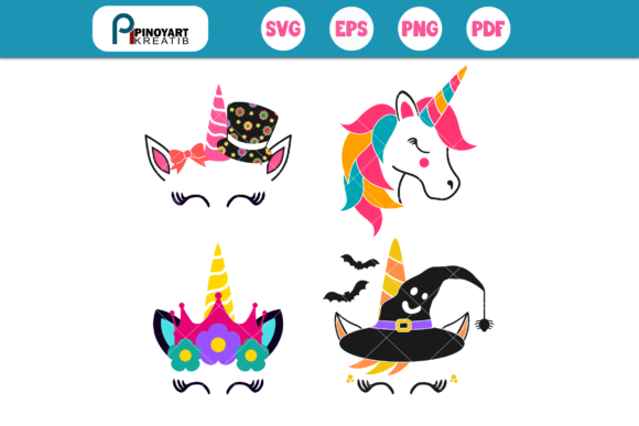 Unicorn SVG Mini Bundle Graphic Crafts By Pinoyartkreatib