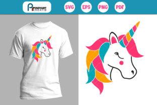 Download Free Unicorn Graphic By Pinoyartkreatib Creative Fabrica for Cricut Explore, Silhouette and other cutting machines.