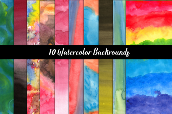 Watercolor Backgrounds Graphic Backgrounds By Design Haul - Image 6