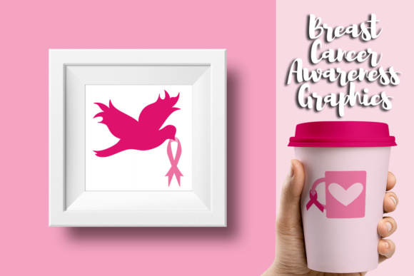 Download Free Wear Pink Ribbon Breast Cancer Awareness Month Graphic By for Cricut Explore, Silhouette and other cutting machines.