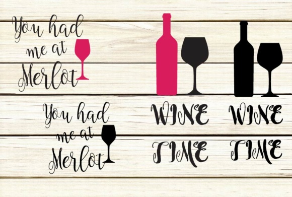 Download Free Wine Quotes Graphic By Design Haul Creative Fabrica for Cricut Explore, Silhouette and other cutting machines.