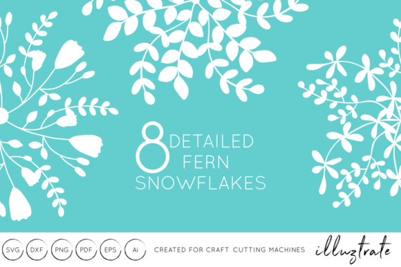 Download Free Winter Festive Snowflakes Svg Cut Files Graphic By Illuztrate for Cricut Explore, Silhouette and other cutting machines.