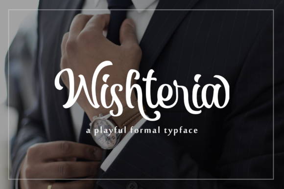 Print on Demand: Wishteria Sans Serif Font By Arterfak Project