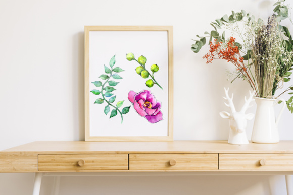 Wonderful Tropical Plant PNG Watercolor Set Graphic By MyStocks Image 4