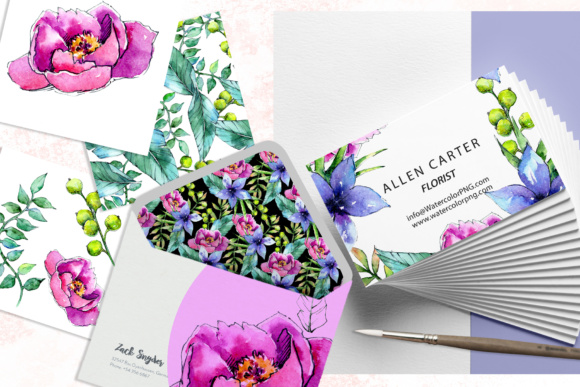 Wonderful Tropical Plant PNG Watercolor Set Graphic By MyStocks Image 6