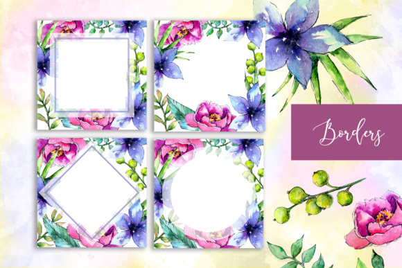 Wonderful Tropical Plant PNG Watercolor Set Graphic By MyStocks Image 9