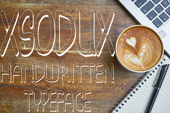 Print on Demand: Xsodux Display Font By Fallengraphic