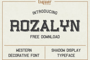 Rozalyn Font By Creative Fabrica Freebies