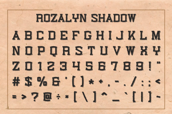 Rozalyn Font By Creative Fabrica Freebies Image 2