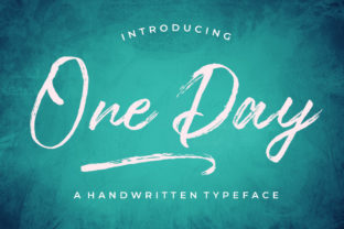 One Day Font By typehill