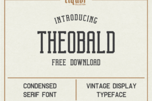 Theobald Font By Creative Fabrica Freebies