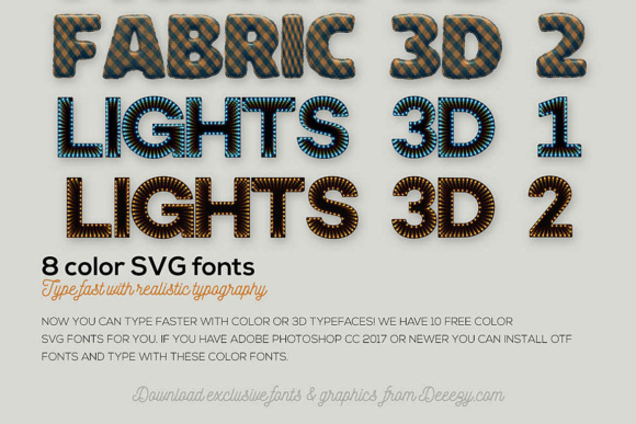 Download Free 10 Color Font By Jumbodesign Creative Fabrica SVG Cut Files