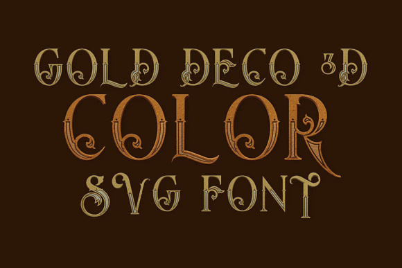 Print on Demand: 10 Color   Color Fonts Font By JumboDesign - Image 6