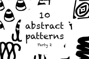 10 Abstract Patterns Graphic By hamelinckmichael