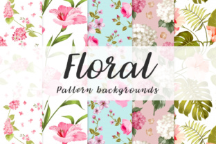 Print on Demand: 10floralseamless Patternbackground Graphic Illustrations By vito12