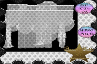 14 Sheer PNG Curtains Graphic By Sojournstar