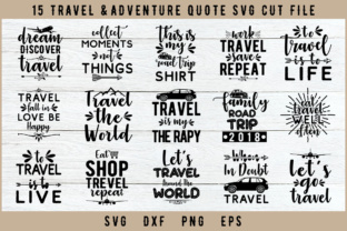 Download Free 15 Travel Files Graphic By Artistcreativedesign Creative Fabrica for Cricut Explore, Silhouette and other cutting machines.