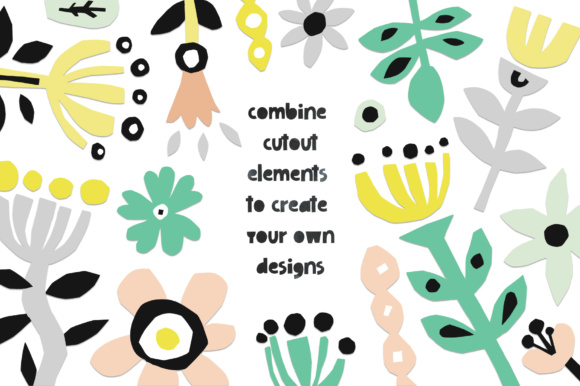426 Cutout Floral Elements PNG, EPS Graphic Illustrations By Favete Art - Image 7