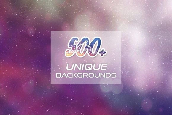 Print on Demand: 500+ Unique Backgrounds Graphic Backgrounds By Eldamar Studio