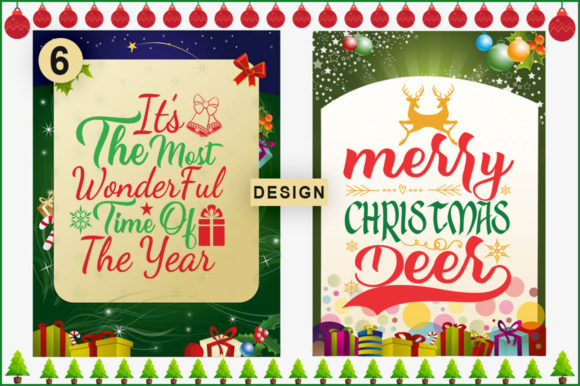 Download Free 6 Christmas Quotes Bundle Graphic By Artistcreativedesign for Cricut Explore, Silhouette and other cutting machines.