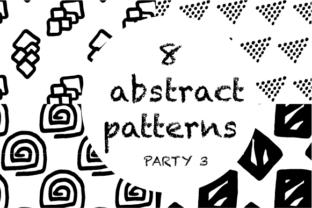8 Abstract Patterns Graphic By hamelinckmichael