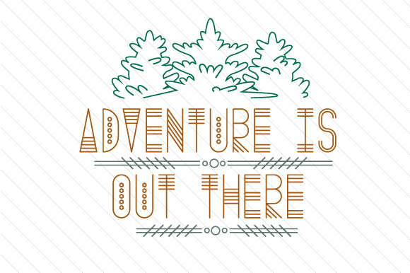 Adventure is out There Summer Craft Cut File By Creative Fabrica Crafts - Image 1