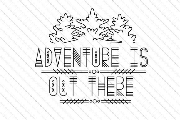 Adventure is out There Summer Craft Cut File By Creative Fabrica Crafts - Image 2