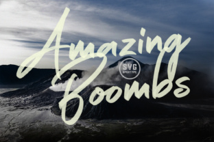Print on Demand: Amazing Boombs Color Fonts Font By Graphicfresh