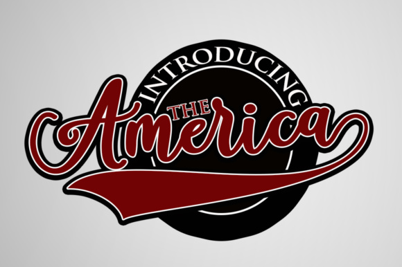 Print on Demand: America Script & Handwritten Font By Mrletters - Image 1