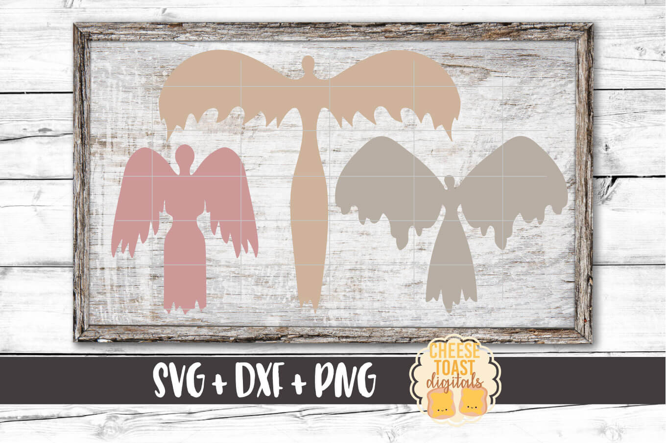 Download Free Angel Bundle Christmas Svg Files Remembrance Graphic By for Cricut Explore, Silhouette and other cutting machines.