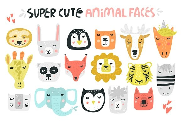 Animal Kingdom - Nursery Art Graphic Illustrations By Favete Art - Image 2