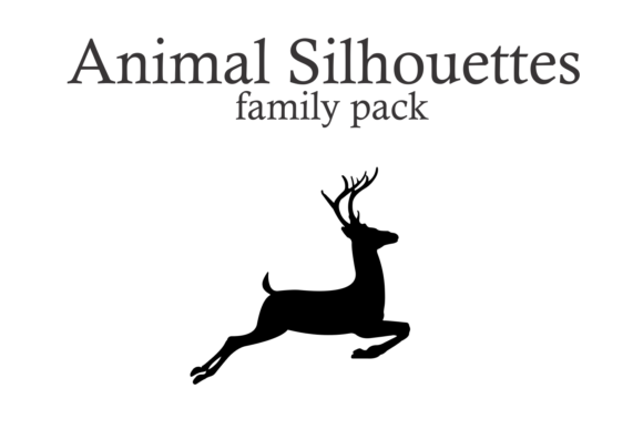 Animal Silhouettes Font By Intellecta Design Image 3
