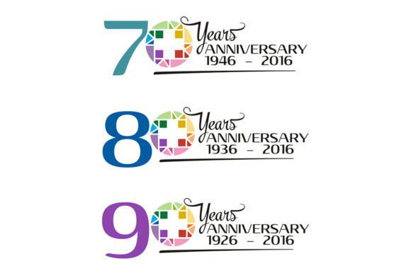 Anniversary Years Graphic Logos By Acongraphic