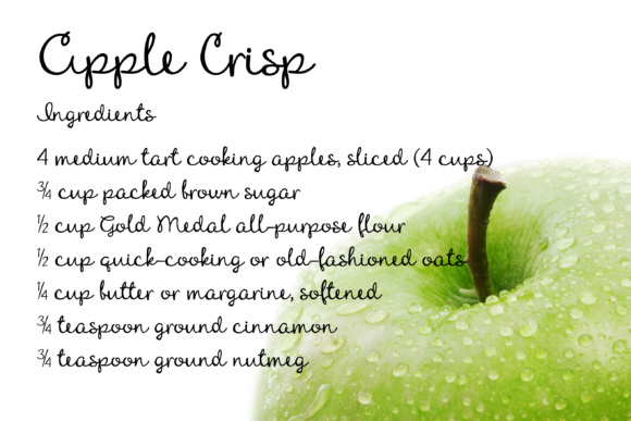 Download Free Apple Crisp Font By Illustration Ink Creative Fabrica for Cricut Explore, Silhouette and other cutting machines.