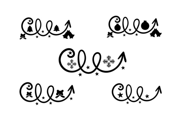 Arrows - Christmas - Hand Lettered