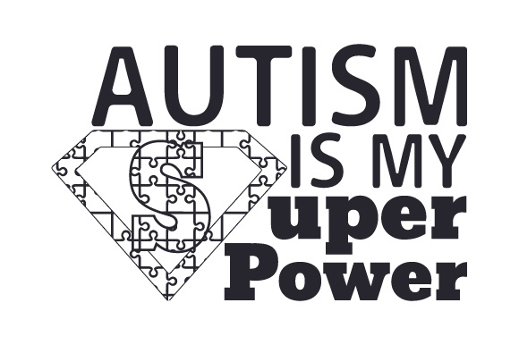 Autism is My Super Power Awareness Craft Cut File By Creative Fabrica Crafts - Image 2
