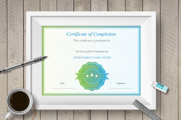 Print on Demand: Award Certificate Template Graphic Print Templates By vito12