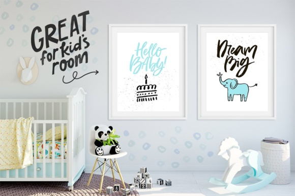 Download Free Baby Shower Collection Graphic By Favete Art Creative Fabrica for Cricut Explore, Silhouette and other cutting machines.