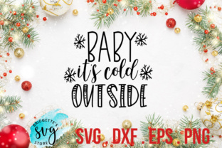 Download Free Baby It S Cold Outside Svg Graphic By Luxmauve Creative Fabrica for Cricut Explore, Silhouette and other cutting machines.