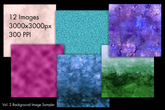 Print on Demand: Background Image Sampler Vol. 2 Graphic Backgrounds By SapphireXDesigns - Image 2