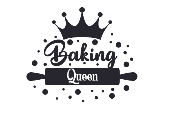 Baking Queen Küche Plotterdatei von Creative Fabrica Crafts