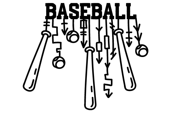 Download Free Baseball Dangle Svg Cut File By Creative Fabrica Crafts for Cricut Explore, Silhouette and other cutting machines.
