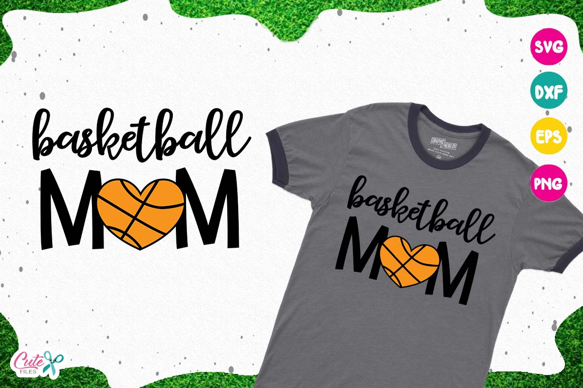 Download Free Basketball Mom Svg Cut Files For Craftter Grafico Por Cute for Cricut Explore, Silhouette and other cutting machines.